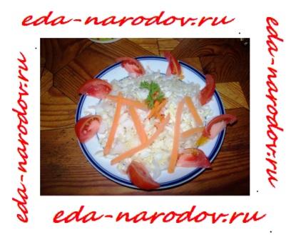 Капуста-помидоры-лук-морковь
