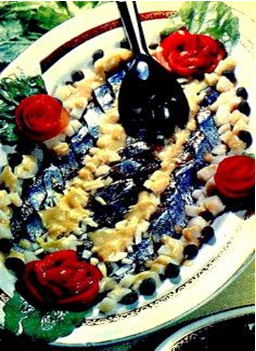 Закуска селедочная
