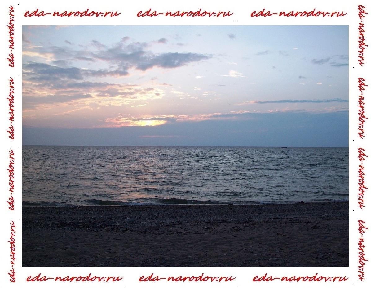 Байкал-закат