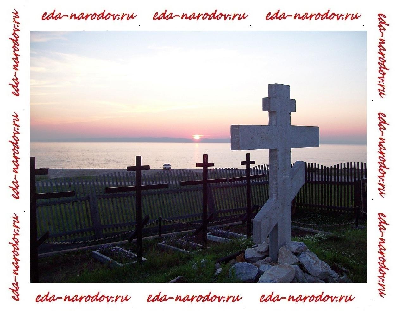 Место захоронения послов на Байкале