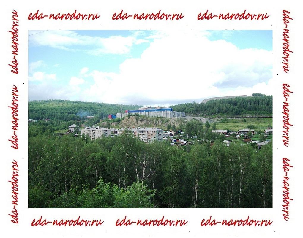 Строения недалеко от Байкала