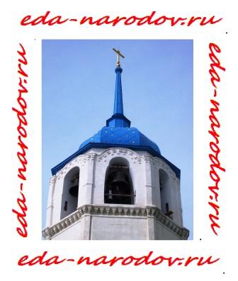 Колокольня монастыря на Байкале