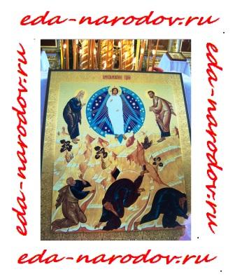 Преображение - икона - фото - на Байкале