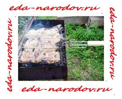 Рецепт шашлыка из куры