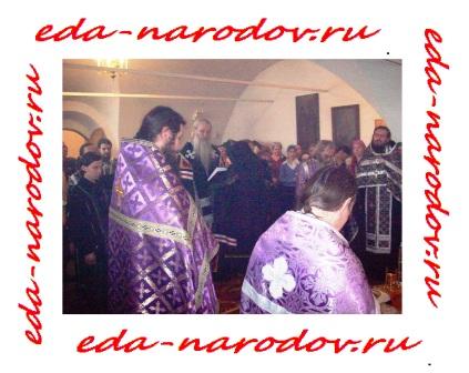 Служба в Спасо-Преображенском монастыре