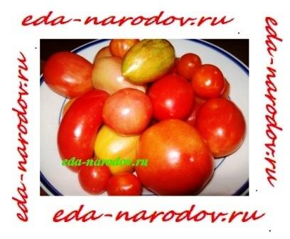 Фото домашних помидор