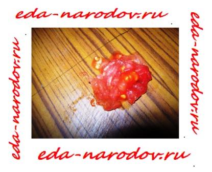 Рецепт вкусных помидор