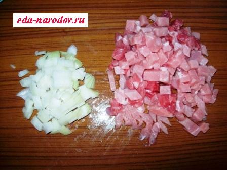 Филе свинины с луком