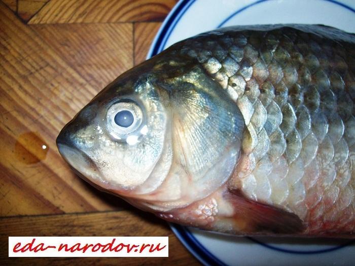 Рецепт из свежей рыбы